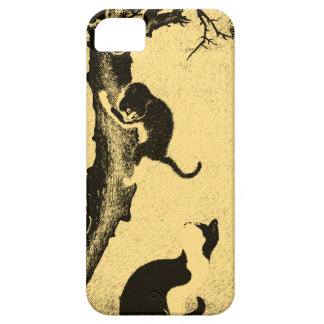 Vintage Korean Cat Art iPhone SE/5/5s Case