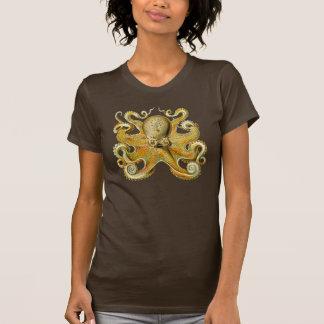Vintage Kraken, Octopus Gamochonia, Ernst Haeckel Tee Shirt