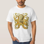 Vintage Kraken, pulpo gigante de Ernst Haeckel Playera