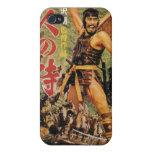 Vintage Kurosawa de siete samurais iPhone 4 Cárcasa
