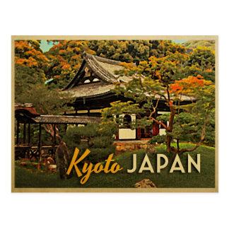 Vintage Kyoto Japón Postales