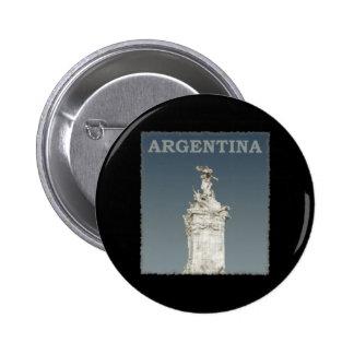 Vintage la Argentina Pin Redondo De 2 Pulgadas