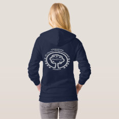 Vintage La Chât Hooded Sweatshirt (front And Back) at Zazzle