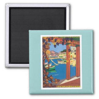 Vintage La Cote D'azur Magnet