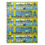 Vintage la Florida Libreta Espiral