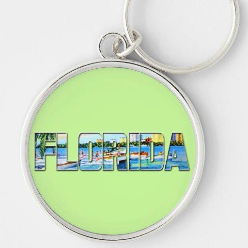 Vintage la Florida Llaveros