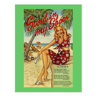 Vintage la Florida, los E.E.U.U. - Postal
