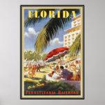 Vintage la Florida, los E.E.U.U. - Poster
