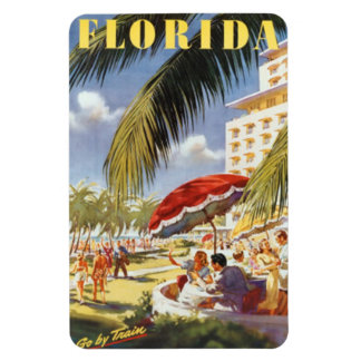 Vintage la Florida, los E.E.U.U. - Rectangle Magnet