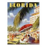 Vintage la Florida, los E.E.U.U. - Tarjeta Postal