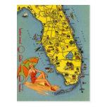 Vintage la Florida, los E.E.U.U. - Tarjetas Postales