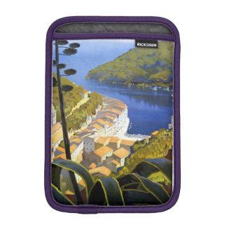 Vintage La Riviera Travel Poster Sleeve For iPad Mini