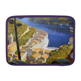 Vintage La Riviera Travel Poster MacBook Air Sleeves