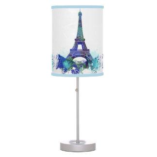 Vintage La tour Eiffel France romantic adventure Desk Lamp