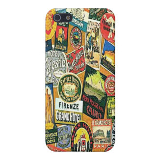 vintage labels iPhone 5/5S cover