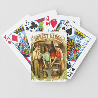Vintage Labor Playing Cards