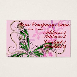Vintage Lace 2 Business Card