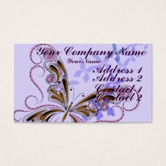 Vintage Lace 3 Business Card