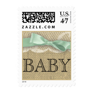 Vintage Lace and Baby Postage