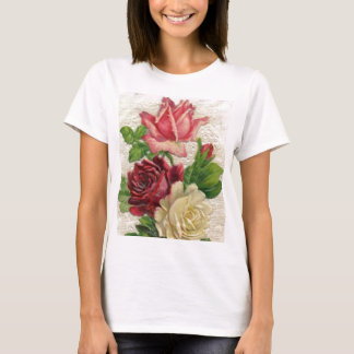 Vintage Lace and Roses T-Shirt