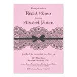 """Vintage Lace"" Bridal Shower Invitation"