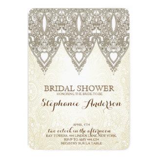 Vintage Lace Bridal Shower Invitations