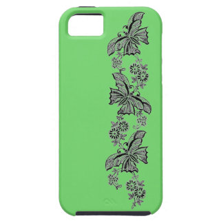 Vintage Lace Butterflies Butterfly Case-Mate Vibe iPhone 5 Case