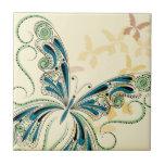 Vintage Lace Ceramic Tile