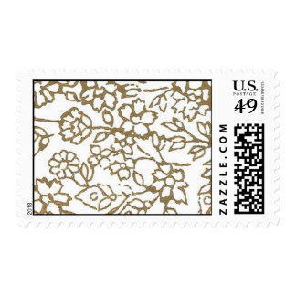 Vintage Lace (Gold) Postage