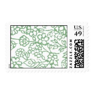 Vintage Lace (Green) Stamp
