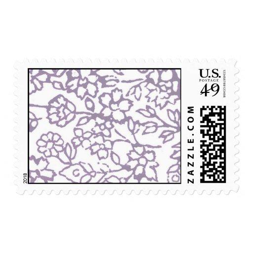 Vintage Lace (Lavender) Stamp