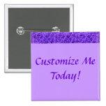 Vintage Lace Leaf Purple Buttons