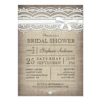 country bridal shower invitations  announcements  zazzle, invitation samples