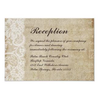 Reception Invitation Template with luxury invitation design