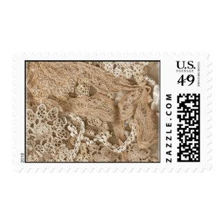 Vintage Lace Stamp