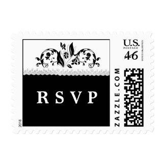 Vintage Lace RSVP Postage Stamps