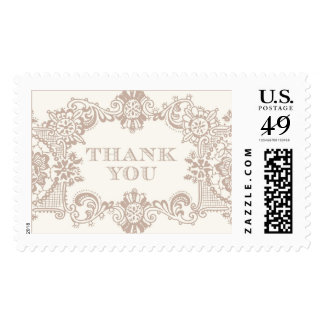Vintage Lace Thank You | Atelier Isabey Stamps