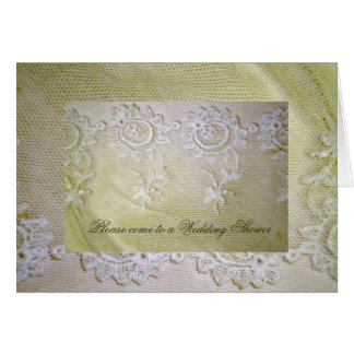 Vintage Laces Stationery Note Card