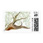 Vintage Lacy Tree Stamp