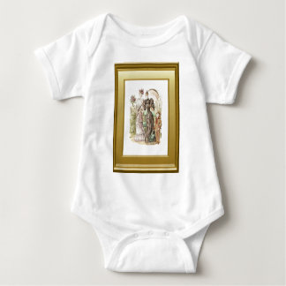 vintage ladies and a little boy t shirt