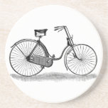 Vintage Ladies Bicycle Beverage Coaster