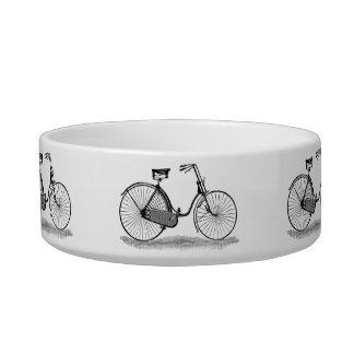 Vintage Ladies Bicycle Bowl
