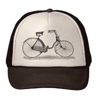 Vintage Ladies Bicycle Trucker Hat