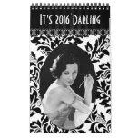 Vintage Ladies Calendar