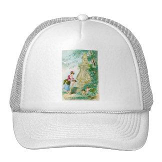 Vintage Ladies Calendar 1888 Cover Trucker Hat