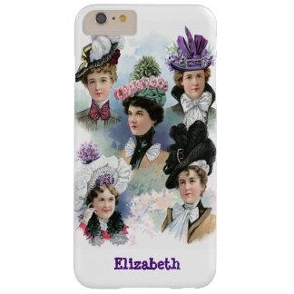 Vintage Ladies Fashion Victorian Hats Phone case