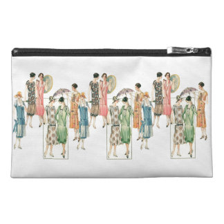 Vintage Ladies Women's Dress Fashions Bagettes Travel Accessory Bag