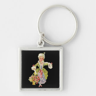 Vintage Lady Aristocrat Keychain