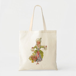 Vintage Lady Aristocrat Tote Bag