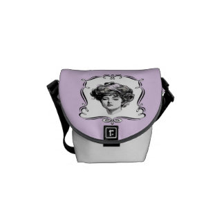 Vintage Lady Courier Bags